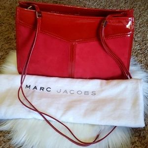 🔻30% OFF 2+| Marc Jacobs Patent Leather/Suede Bag
